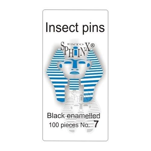 Insektsnålar svarta Nr 7