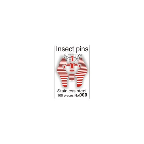 Insect Pins Steel No 000