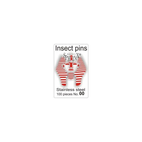 Insect Pins Steel No 00