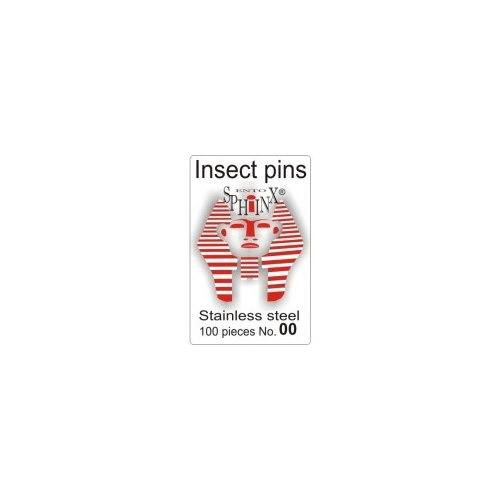 Insektsnålar blanka Nr 00