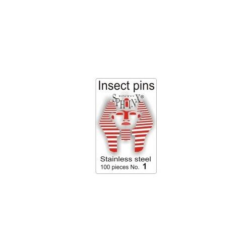 Insektsnålar blanka Nr 1