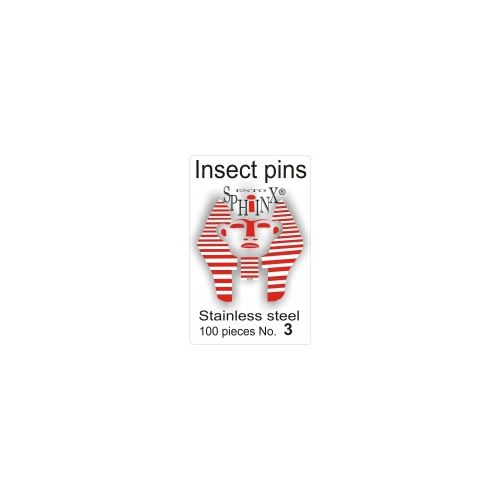 Insect Pins Steel No 3