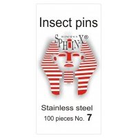 Insect Pins Steel No 7