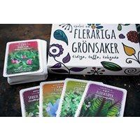 Cardgame Fleråriga Grönsaker (Vegetables)