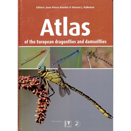 Atlas of the European dragonflies and damselflies (Boudet..)