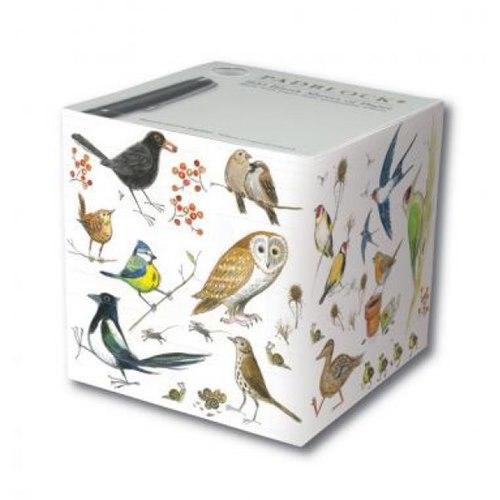 Padblock Cube Bird Sketches - 800 sheets