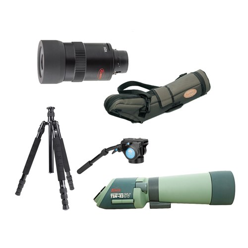 KOWA TSN-82SV 21-63x Spotting Scope Kit
