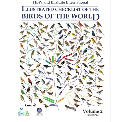 Illustrated Checklist of the Birds of the World. Vol 2 (Del