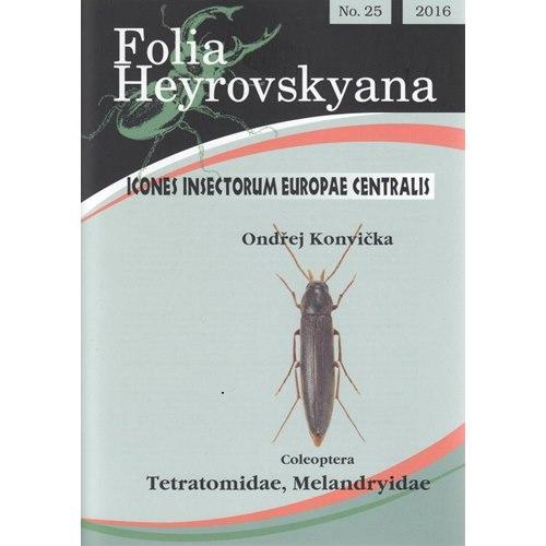 Tetratomidae, Melandryidae (skinnsvamp-brunbaggar) FHB 25