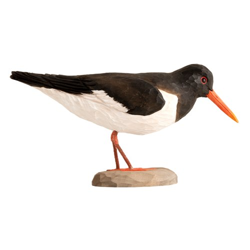 Oystercatcher Wood Carving