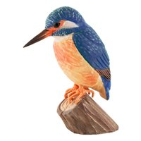 Kingfisher Wood Carving