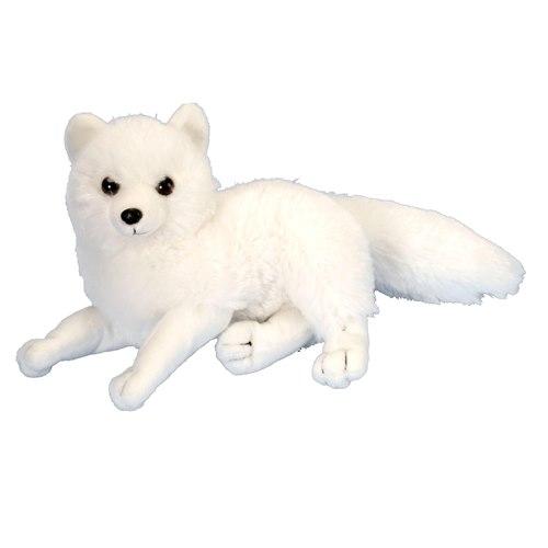 Soft Arctic fox 20 cm