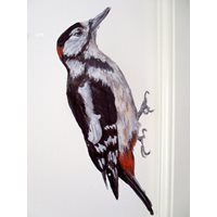 Great spotted Woodpecker Sticker