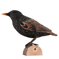 Starling Wood Carving