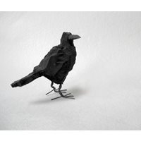 Crow, wood, large
