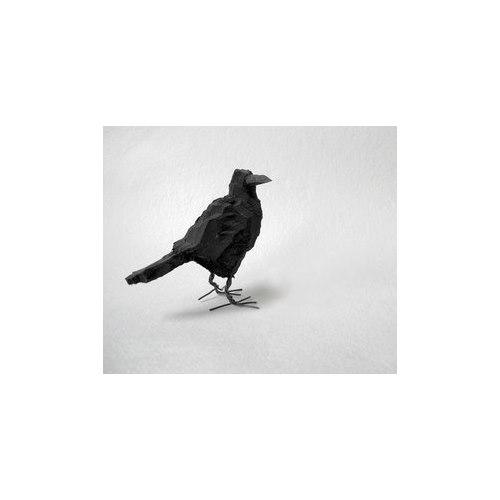 Kråkfågel, trä stor