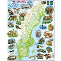 Pussel Karta Sverige Maxi