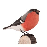 Eurasian bullfinch Wood Carving