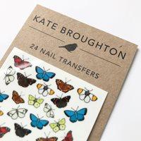 Nageltatuering, Fjärilar