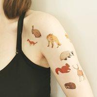 Tatuering, Djur