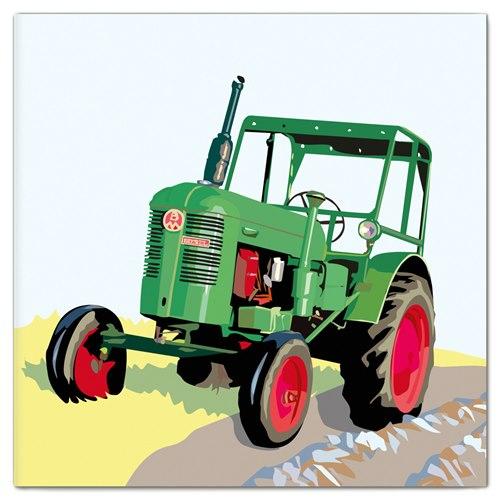 Dubbelt Kort Traktor