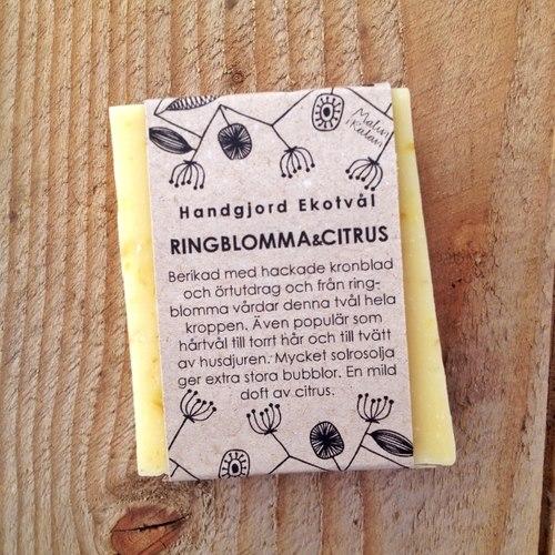 Tvål, Ringblomma&Citrus, 110g Eko