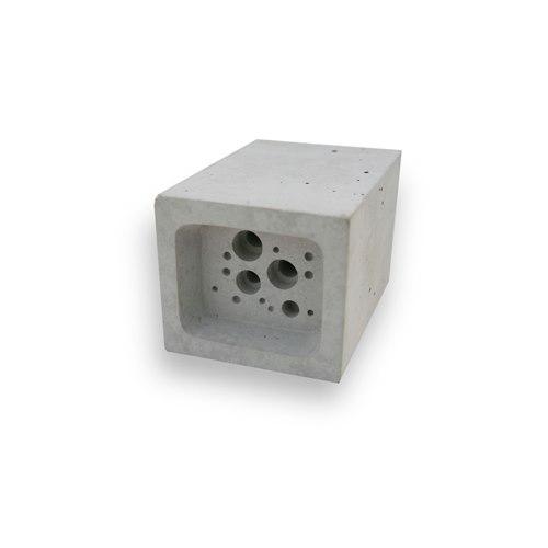 Small Bee Block vit - Bi och insektshus