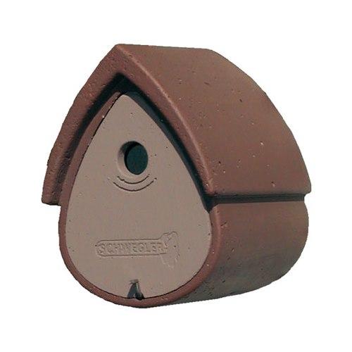 Holk träbetong för mes Birdhome 1MR Brun