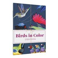 Fåglar i färg, anteckningsbok, 3set