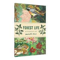 Forest Life, anteckningsbok, 2set