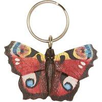 Nyckelring snidad Fjäril