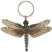Carved Dragnfly Key Chain