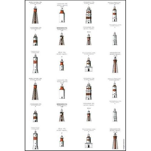 Towel Swedish Lighthouses