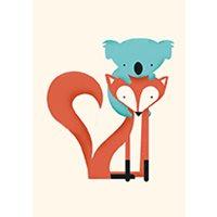 Kort Fox & Koala
