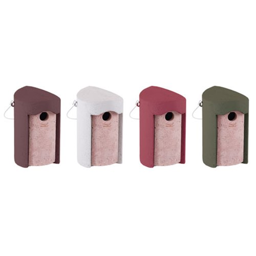 Nestbox Woodcrete for tits 32mm 1B Brown