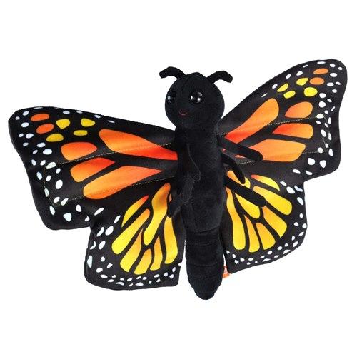 Mjukisdjur Fjäril Monark, kram