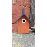 Nestbox Iris for small birds (Red)