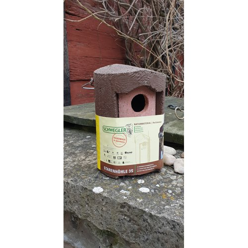 Nestbox Woodcrete for Starlings
