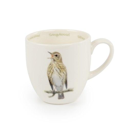 Mug Porcelain Song thrush