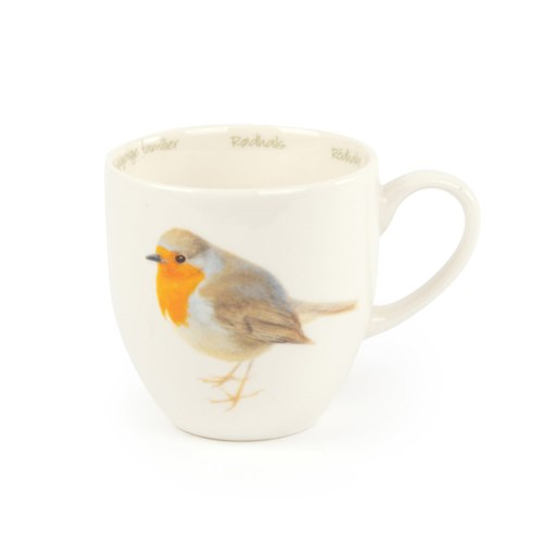 Mug Porcelain Robin