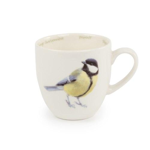 Mug Porcelain Great tit