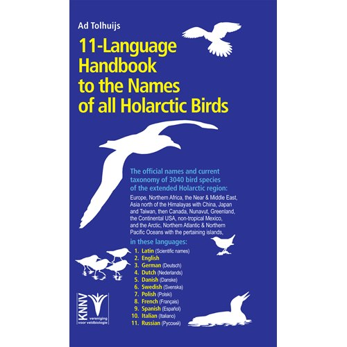 11-Language Handbook tot the Names of all Holartic Birds