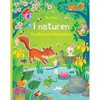 I naturen: Pysselbok med klistermärken