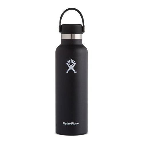 Hydro Flask, Black Standard Mouth Flex 21 (621ml)