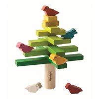 Balansträd med fåglar