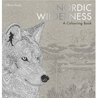 Nordic Wilderness, a colouring book