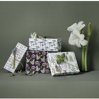 Presentpapper Blommor&Fåglar