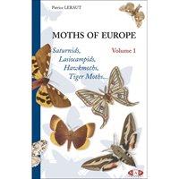 Moths of Europe. Vol. 1 (Leraut)