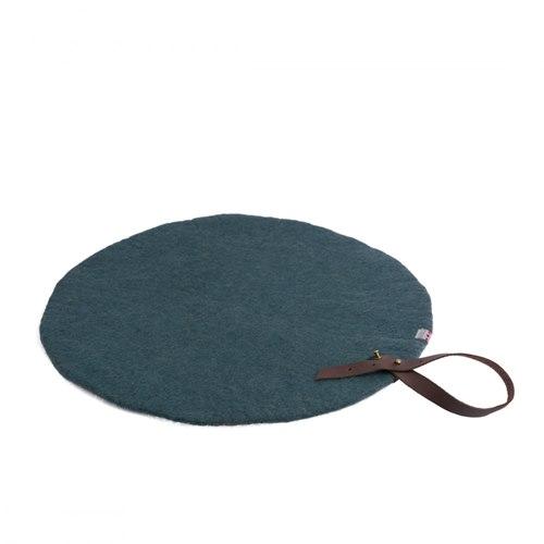 Sittunderlag rund havsgrön 40 cm