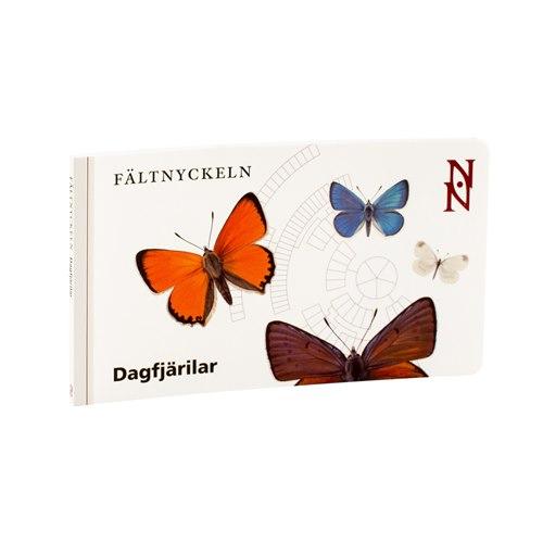 Dagfjärilar - Fältnyckeln. Nationalnyckeln